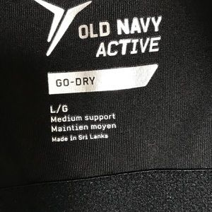 23671086dd Old Navy Intimates   Sleepwear - Old Navy Active Go Dry Sports Bra Floral